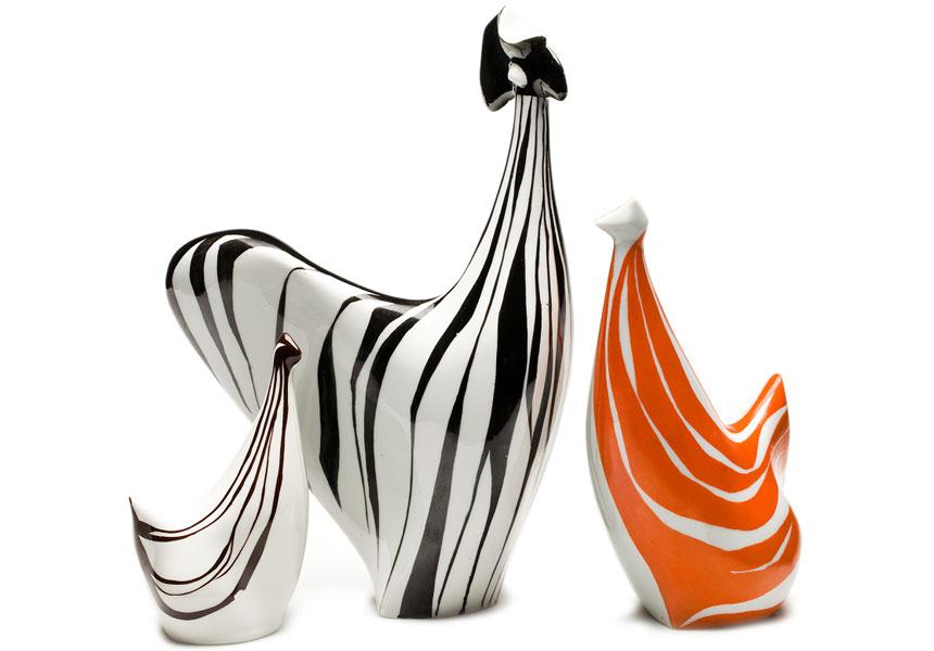 Cudo-Twórcy – ceramiczne figurki koguta ikurek
