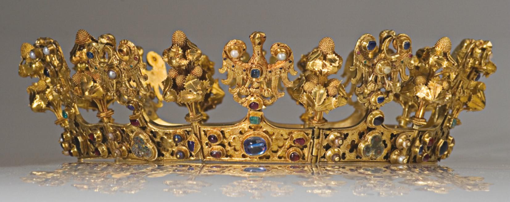 złota korona królowych czeskich