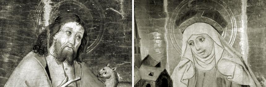 foto: szkice świętych