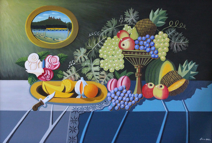 martwa natura z owocami – żywe kolory