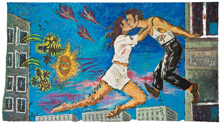 """Krzysztof Skarbek """"W sierpniu całujemy się zaoknem"""", 1987"""