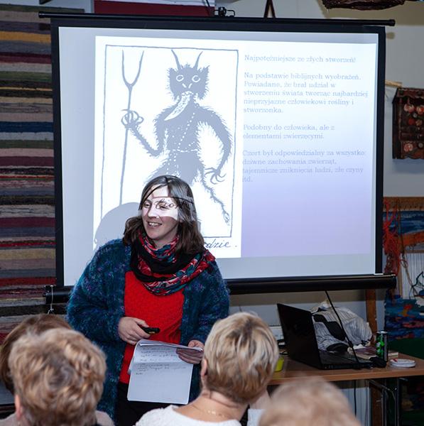 Olga opowiada o dusiołkach i mamunach