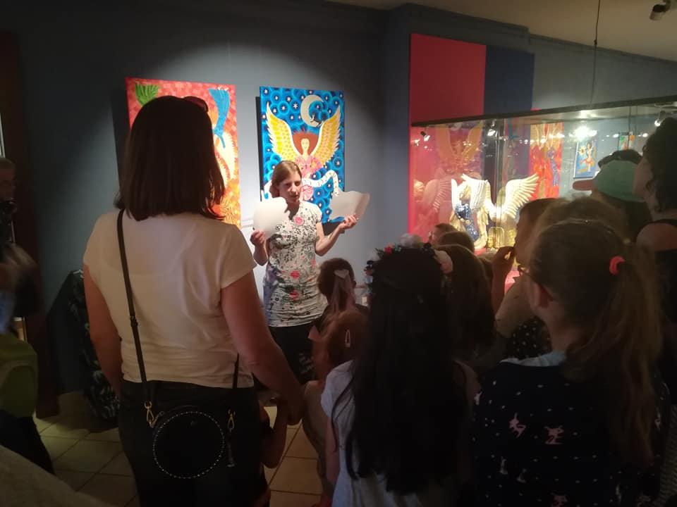 Olga opowiada o malarstwie