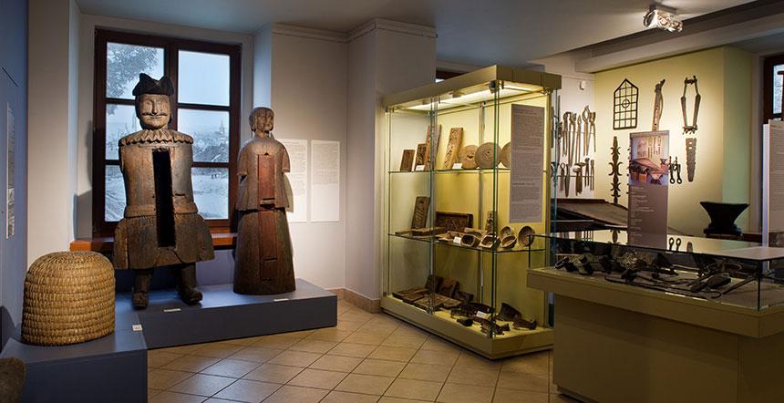 sala wMuzeum Etnograficznym weWrocławiu