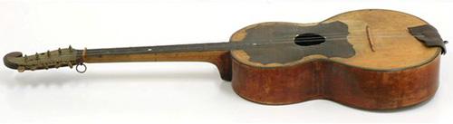 Bulgaria wkształcie gitary
