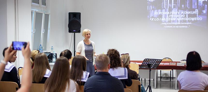 przemówienie nauczycielki
