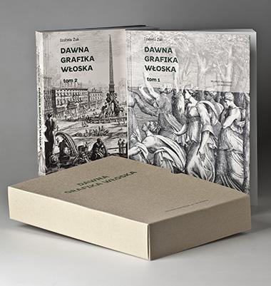 """dwa tomy katalogu """"Dawna grafika włoska"""""""