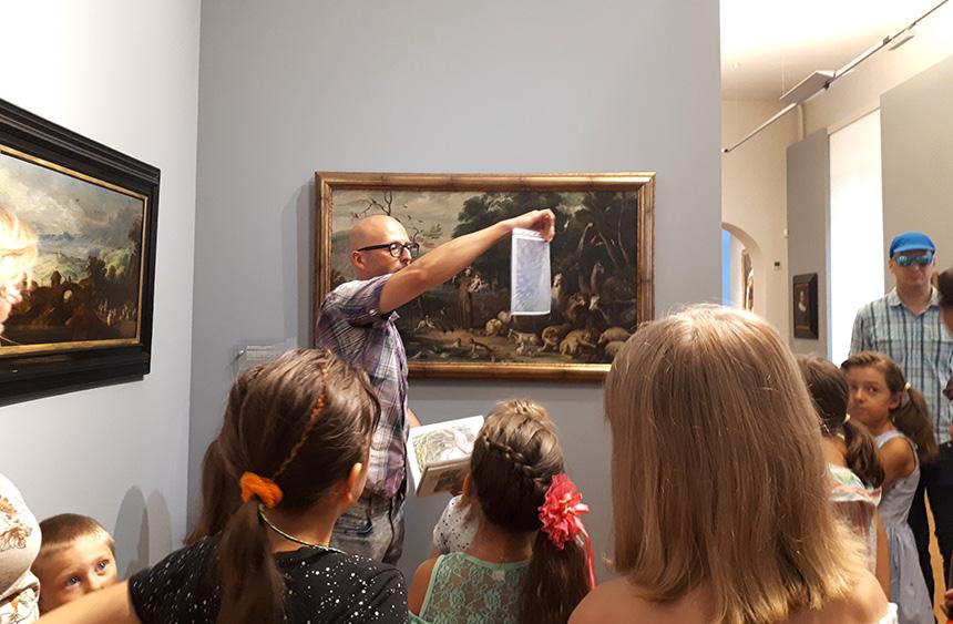 w poszukiwaniu ptaków wmuzealnych galeriach