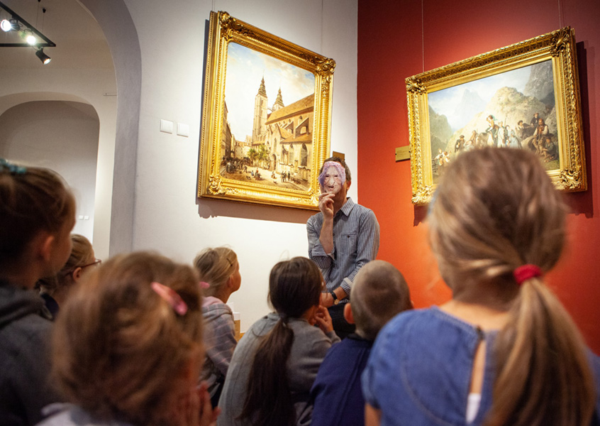 zajęcia wgalerii sztuki