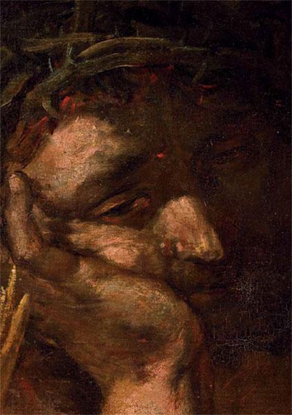 Chrystus Frasobliwy – twarz
