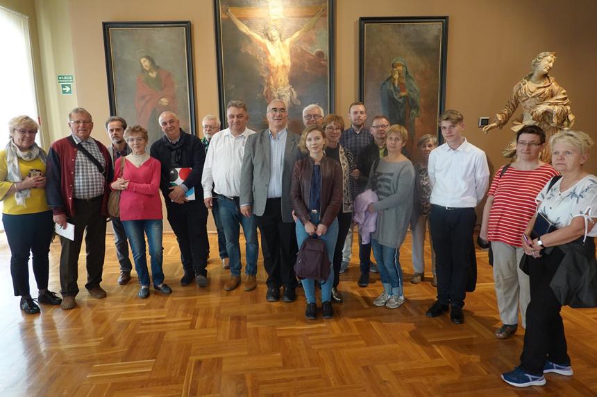 Spotkanie Członków Stowarzyszenia naZamku Piastów wBrzegu
