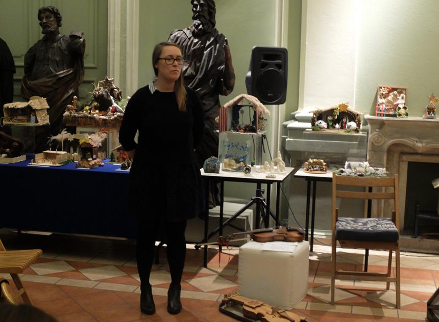 Marta Derejczyk opowiada owystawie