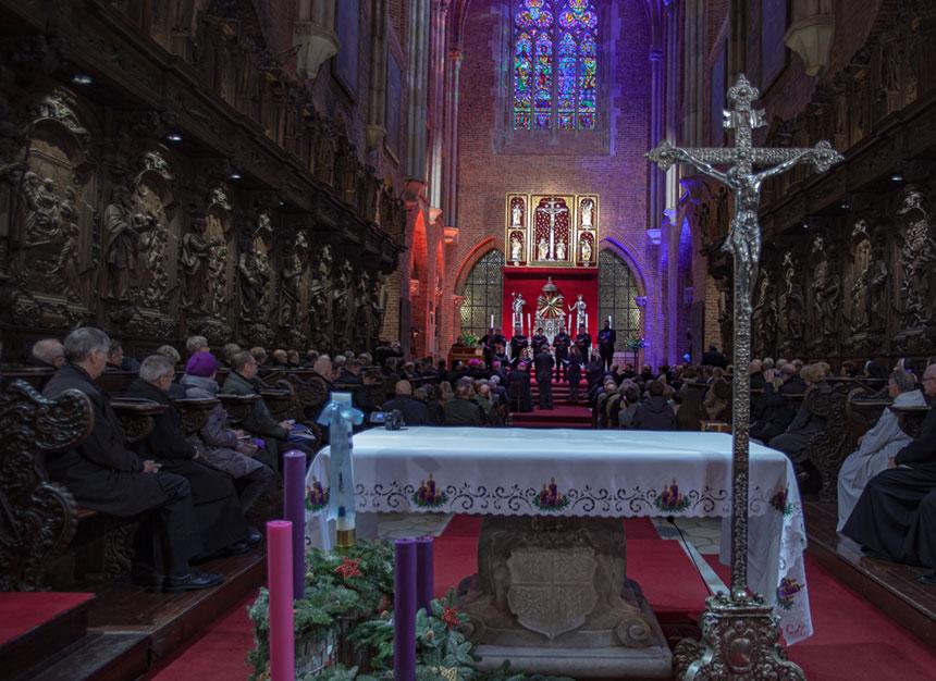Ołtarz biskupa Jerina wewrocławskiej katedrze