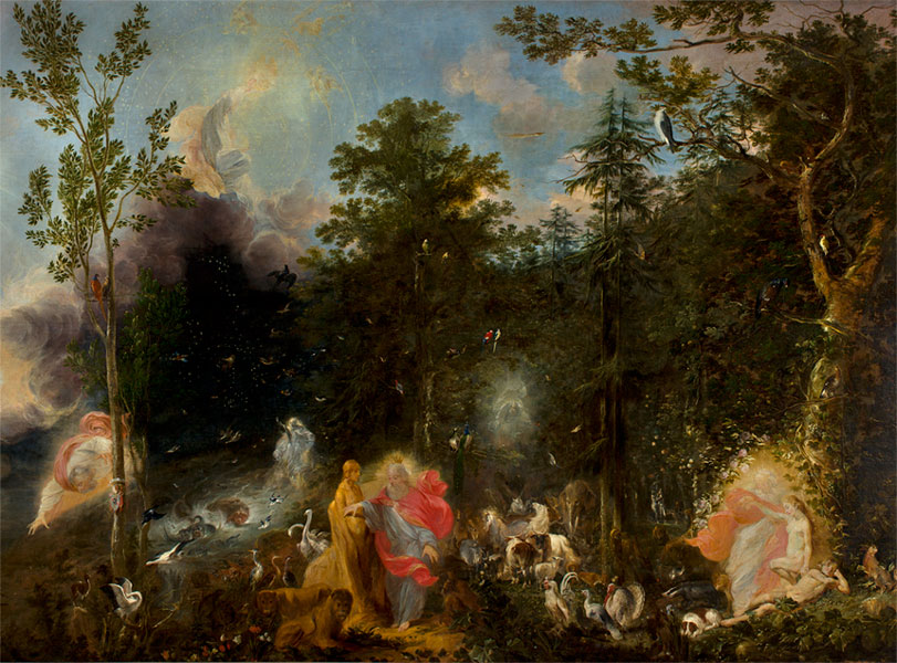 Michael Willmann, Sześć dni stworzenia, 1668