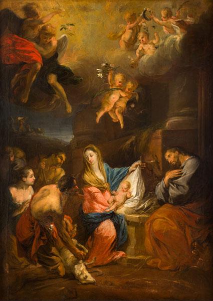 Michael Willmann, Pokłon pasterzy, ok. 1682