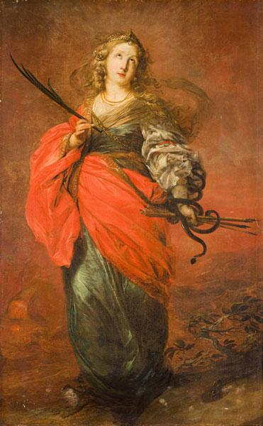 Michael Willmann, Święta Krystyna, 1690–1695