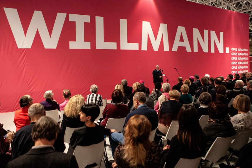 "wernisaż wystawy ""Willmann.. Opus magnum"