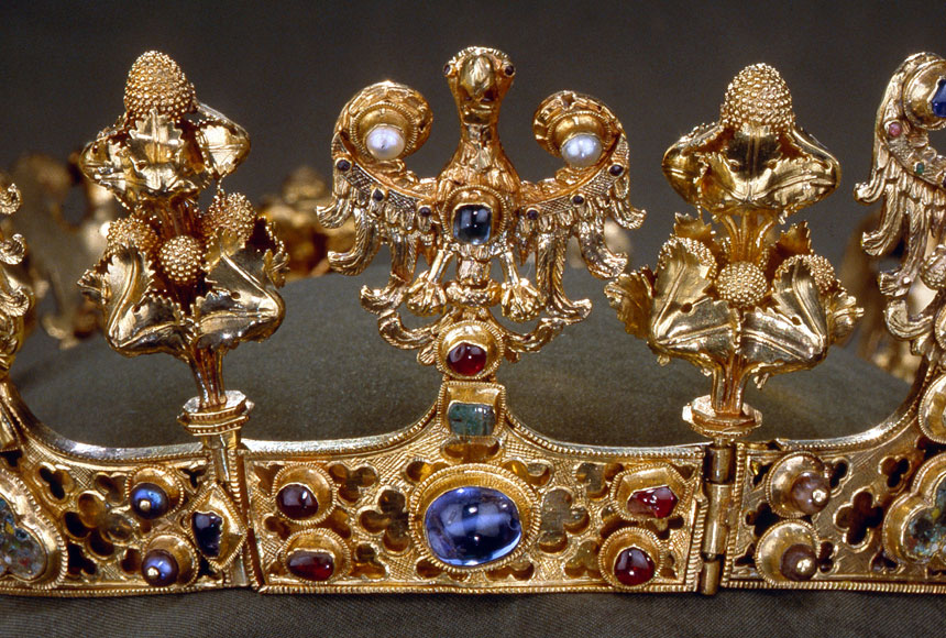 fragment korony zeSkarbu Średzkiego