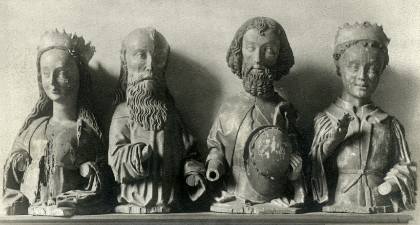 fragment fotografii zTrzema Królami
