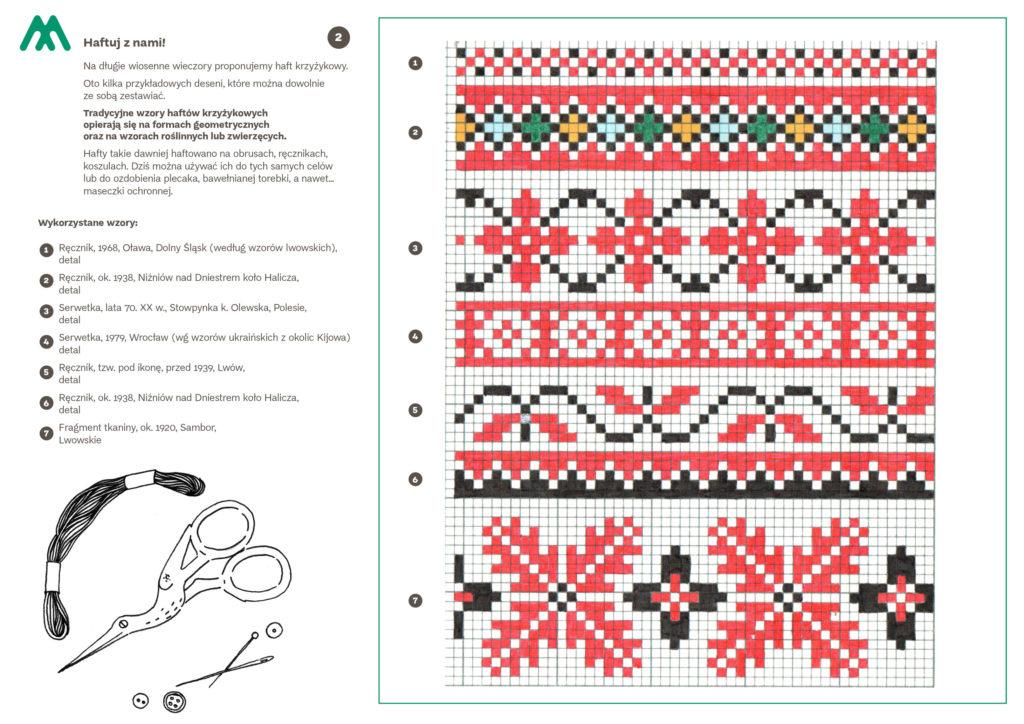 haft krzyżykowy 2