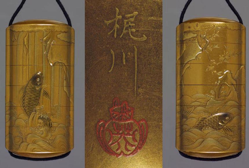japońskie puzderko na medykamenty