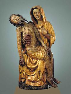 rzeźbiona Pieta