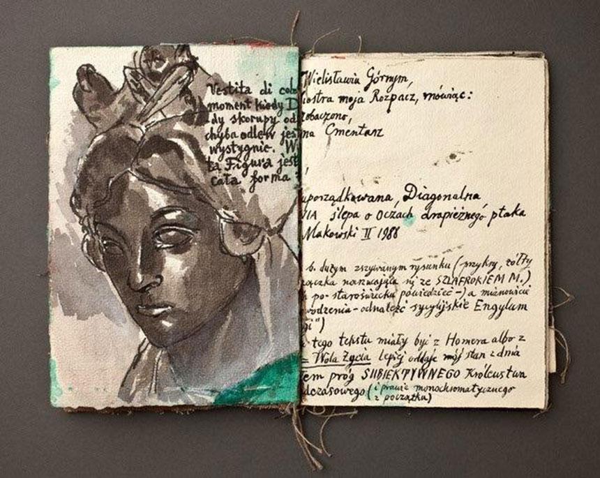 Zbigniew Makowski, Księga artystyczna (fragmenty), 1991