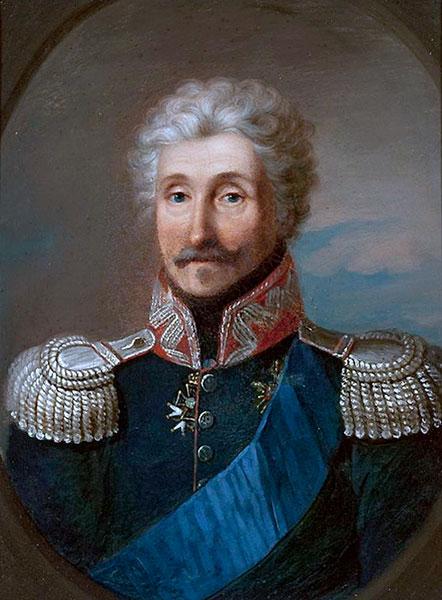 portret gen. Józefa Zajączka