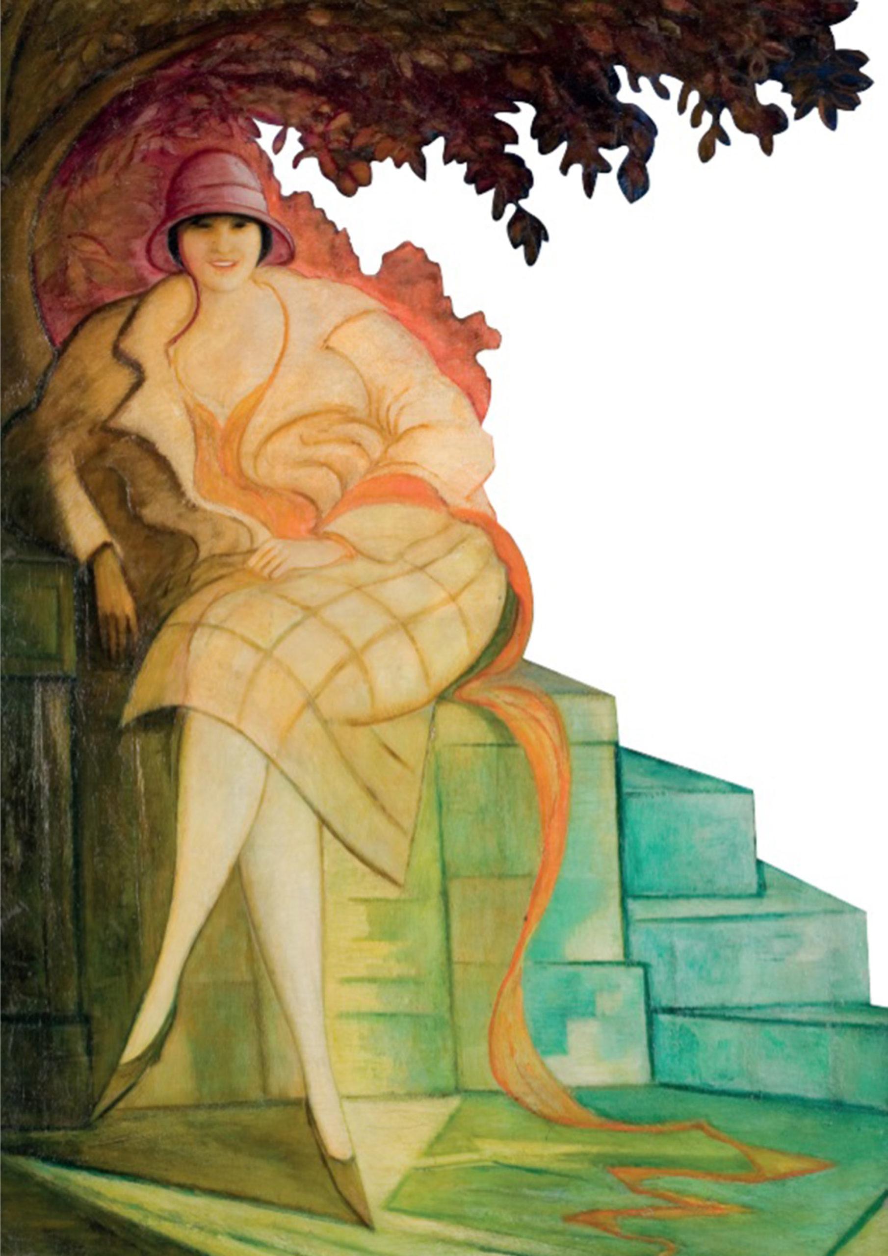 Portret żony, czyli pani Chwistkowej