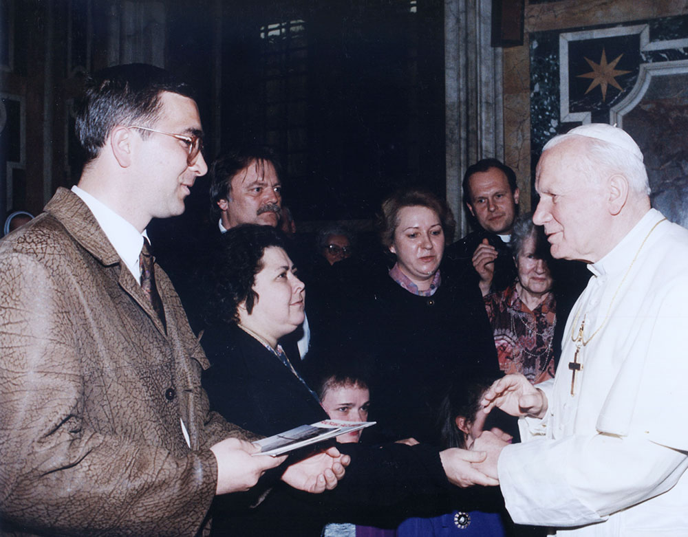 Jan Paweł II – spotkanie wWatykanie