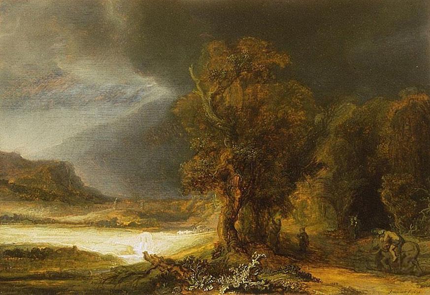 Obraz Rembrandta