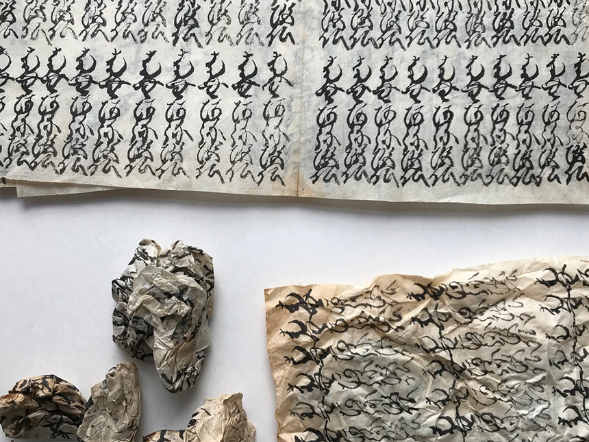 karty wydobyte zwnętrza rzeźby
