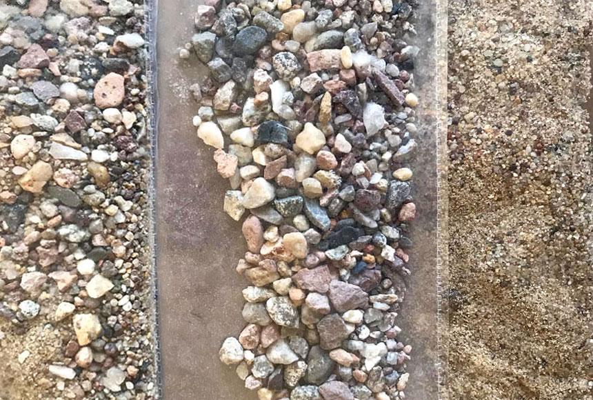 Próbka piasku do młyna G. Ueckera