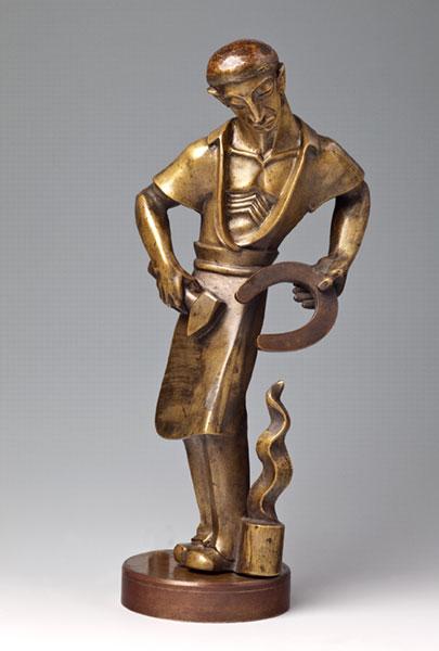 Rzeźba kowala, autorstwa Jaroslava Vonki