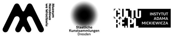 Logotypy MNWr, Albertinum, Instytut Adama Mickiewicza