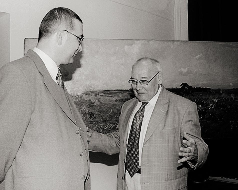 Profesor Olgierd Czerner iRomuald Nowak