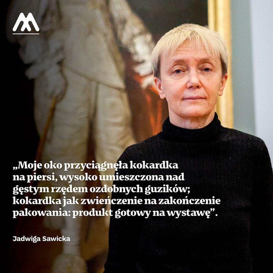 Jadwiga Sawicka – profesor wInstytucie Sztuk Pięknych Uniwersytetu Rzeszowskiego