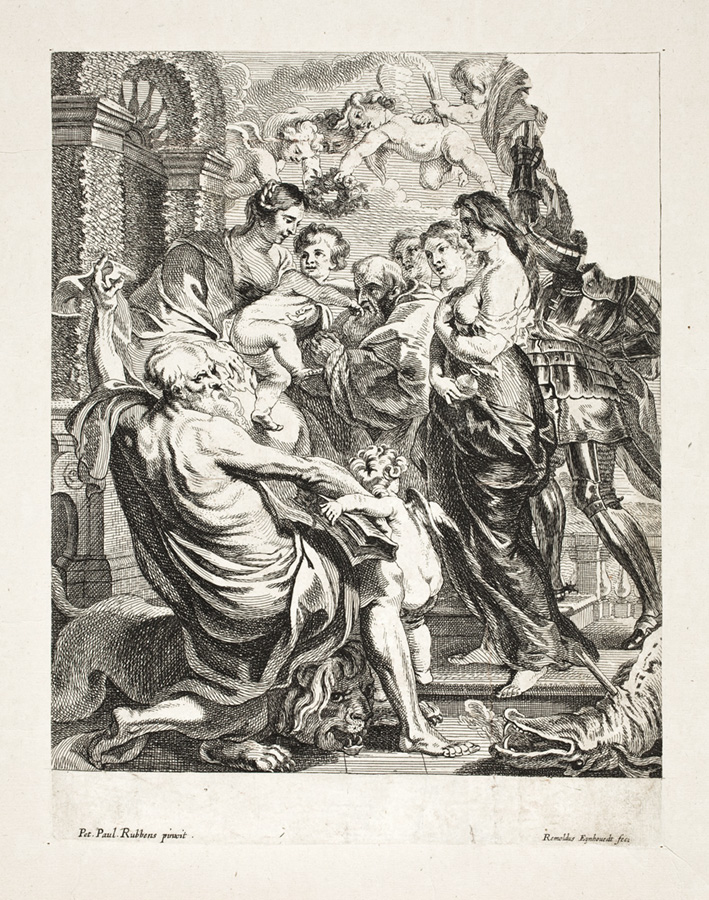 Grafika zezbiorów wrocławskich bezgłowy św.Jerzego