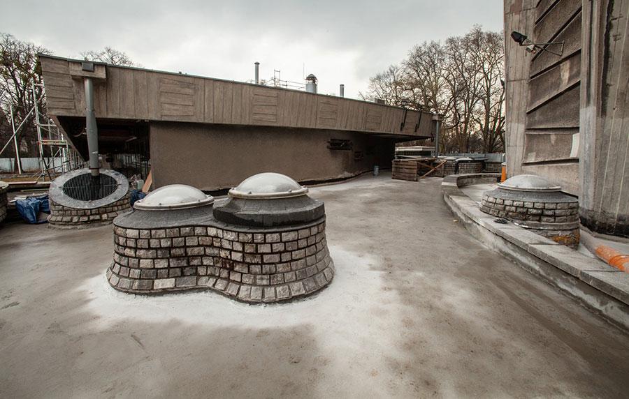 fotodokumentacja zmodernizacji Panoramy Racławickiej