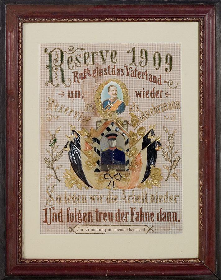 Pamiątka zwojska, ok. 1909