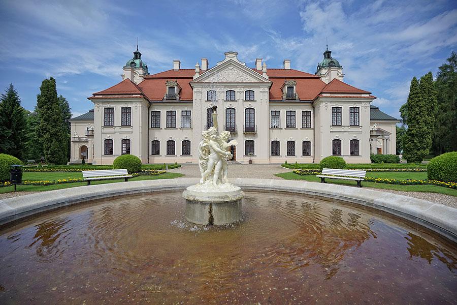 Pałac Zamoyskich wKozłówce