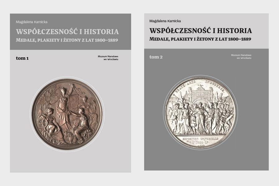 okładki dwóch tomów publikacji