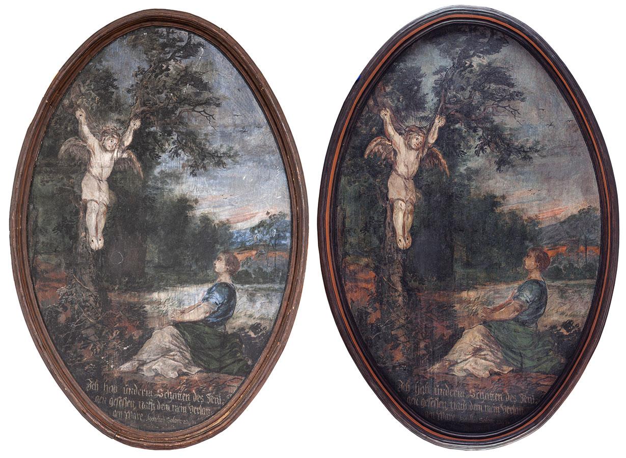 Oblubienica wcieniu Oblubieńca – obraz przedipokonserwacji