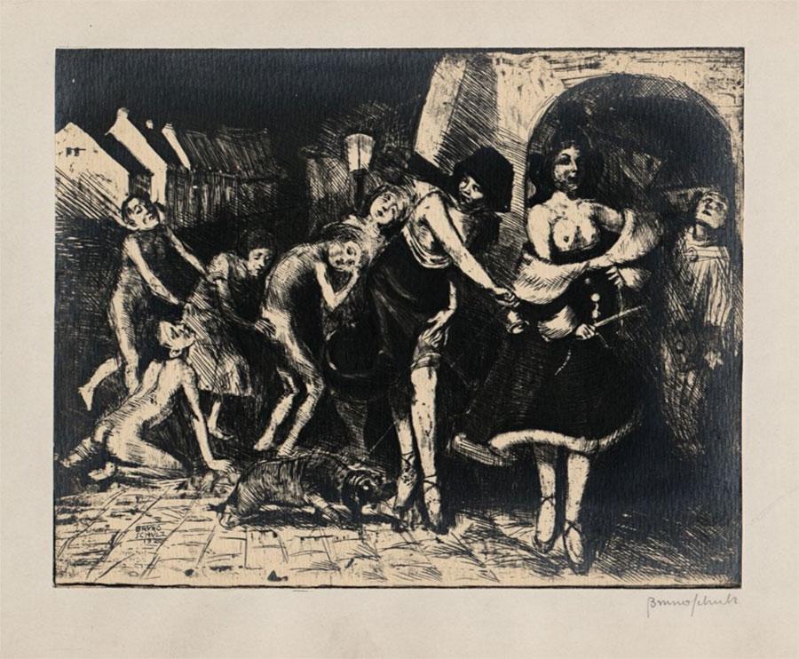 Bachanalie Brunona Schulza, wariant ilustracji