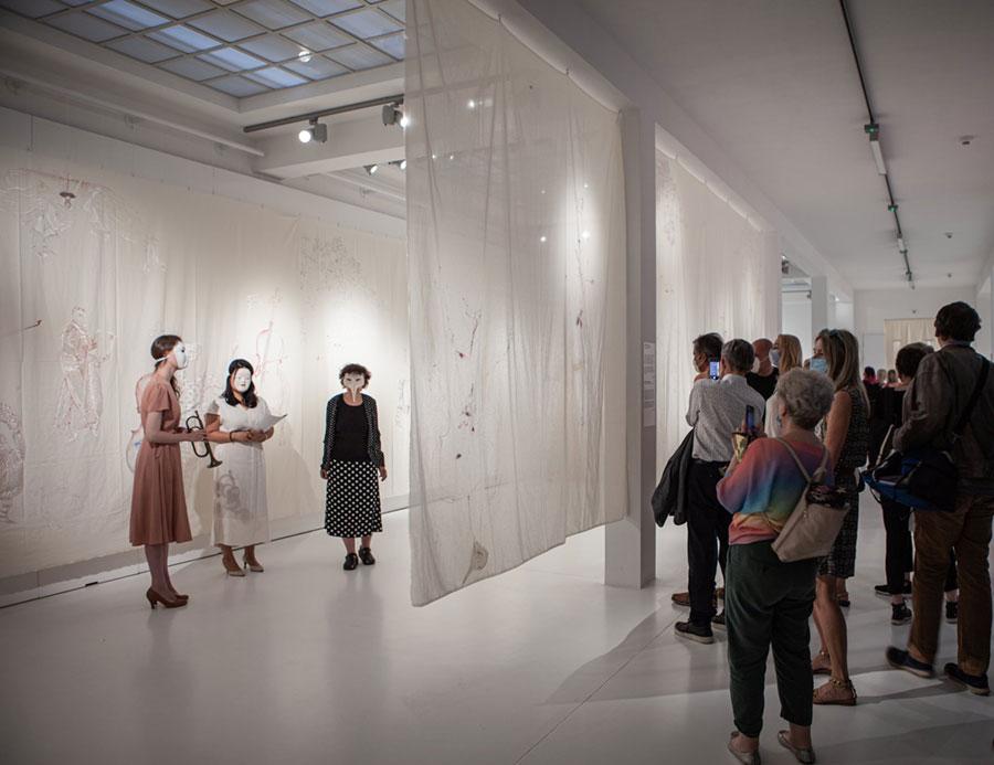Wernisaż wystawy Ewy Kuryluk