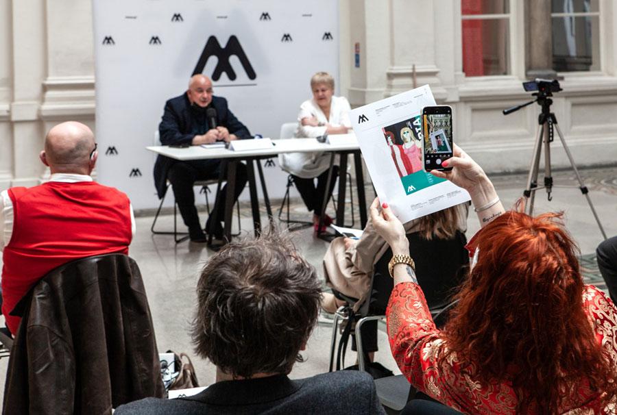 Konferencja prasowa przedotwarciem wystawy Galeria mody