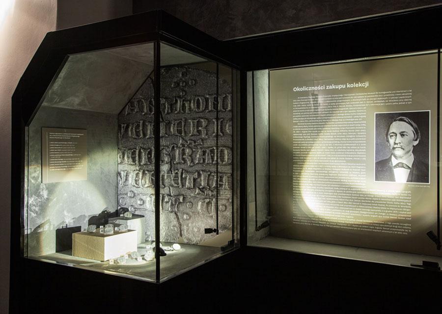 Fragment ekspozycji wMuzeum