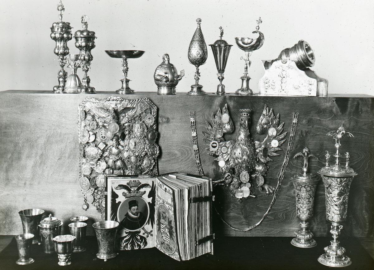 przedwojenna kolekcja Bractw Strzeleckich