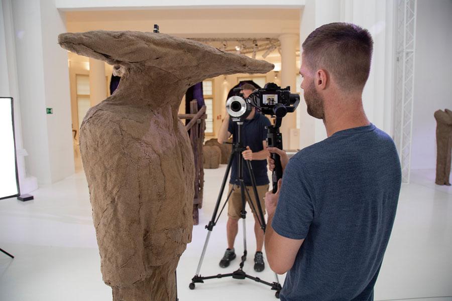 Abakanowicz 3D – skanowanie prac
