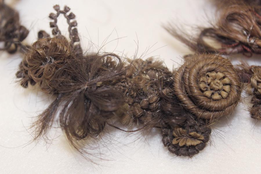 Ozdoby zwłosów – fragment wianka
